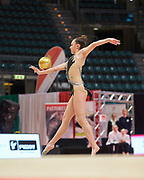 Ana Luiza Filiorianu from Udinese team during the Italian Rhythmic Gymnastics Championship in Bologna, 9 February 2019.
