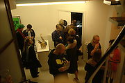 David Wojnarowicz private view. Between Bridges, 23 Cambridge Heath Rd. London. 19 April 2006. ONE TIME USE ONLY - DO NOT ARCHIVE  © Copyright Photograph by Dafydd Jones 66 Stockwell Park Rd. London SW9 0DA Tel 020 7733 0108 www.dafjones.com
