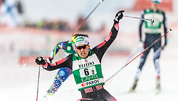 20.02.2016, Salpausselkae Stadion, Lahti, FIN, FIS Weltcup Nordische Kombination, Lahti, Team Sprint, Langlauf, im Bild Philipp Orter (AUT) // Philipp Orter of Austria competes during Cross Country Team Sprint Race of FIS Nordic Combined World Cup, Lahti Ski Games at the Salpausselkae Stadium in Lahti, Finland on 2016/02/20. EXPA Pictures © 2016, PhotoCredit: EXPA/ JFK