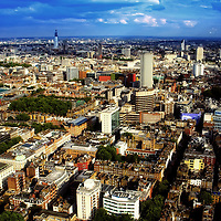 Bloomsbury, London from BT Tower