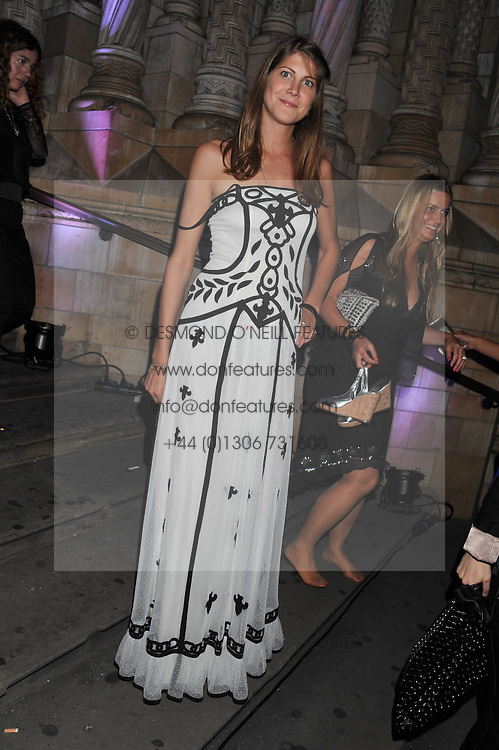 PRINCESS FLORENCE VON PREUSSEN at The Global Party held at The Natural History Museum, Cromwell Road, London on 8th September 2011.