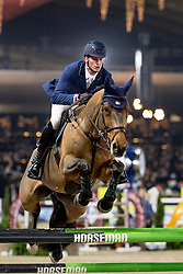 Deusser Daniel, GER, Killer Queen vdm<br /> Jumping Mechelen 2018<br /> © Hippo Foto - Sharon Vandeput<br /> 29/12/18