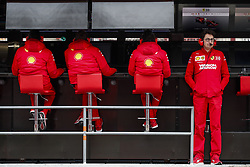 February 20, 2019 - Barcelona, Spain - BINOTTO Mattia (ita), Team Principal & Technical Director of the Scuderia Ferrari, portrait during Formula 1 winter tests from February 18 to 21, 2019 at Barcelona, Spain - Photo  /  Motorsports: FIA Formula One World Championship 2019, Test in Barcelona, (Credit Image: © Hoch Zwei via ZUMA Wire)