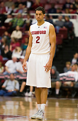 November 6, 2009; Stanford, CA, USA;  Stanford Cardinal guard/forward Landry Fields (2) during the first half of an exhibition game against the Sonoma State Seawolves at Maples Pavilion.