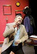 Oliver Reed: Wild Thing <br /> by Mike Davis and Rob Crouch <br /> directed by Kate Bannister <br /> at The St James Theatre <br /> London, Great Britain <br /> press photocall 31st July 2013 <br /> <br /> <br /> Rob Crouch <br /> as Oliver Reed <br /> <br /> <br /> Photograph by Elliott Franks