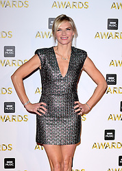 Jo Whiley attending the BBC Music Awards at the Royal Victoria Dock, London.