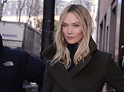 Karlie Kloss at Balmain parade as part of Fashion Week Chamber of Commerce and Industry of Paris March 3, 2016 Paris<br /> ©Exclusivepix Media