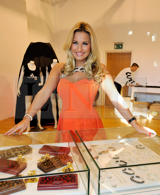 © Licensed to London News Pictures. 02/02/2013. Bristol, UK. Sam Faiers from TOWIE at the opening of the Minnies Boutique pop-up shop in Bristol's Cabot Circus shopping centre.  02 February 2013..Photo credit : Simon Chapman/LNP