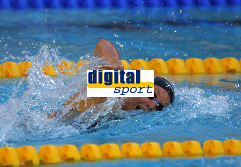 Dana Vollmer (USA)Swimming, Athens Olympics, 16/08/2004. Credit: Colorsport / Andrew Cowie DIGITAL FILE ONLY