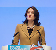 Conservative Party Conference, ICC, Birmingham, Great Britain <br /> Day 2<br /> 8th October 2012 <br /> <br /> Rt Hon Theresa Villiers MP <br /> Secretary of State for Northern Ireland <br /> <br /> <br /> <br /> Photograph by Elliott Franks<br /> <br /> <br /> Tel 07802 537 220 <br /> elliott@elliottfranks.com<br /> <br /> ©2012 Elliott Franks<br /> Agency space rates apply