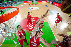 Milan Macvan of Serbia during friendly basketball match between National teams of Slovenia and Serbia of Adecco Ex-Yu Cup 2012 as part of exhibition games 2012, on August 5, 2012, in Arena Stozice, Ljubljana, Slovenia. (Photo by Urban Urbanc / Sportida)