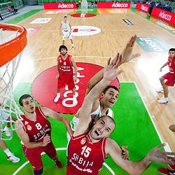 20120805: SLO, Basketball - Adecco Cup, Slovenia vs Serbia