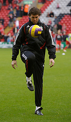 LIVERPOOL, ENGLAND - Sunday, December 2, 2007: Liverpool's goalkeeping coach Xavi Valero before the Premiership match against Bolton Wanderers at Anfield. (Photo by David Rawcliffe/Propaganda)