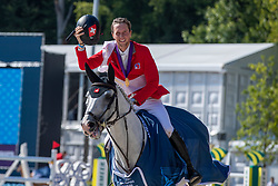 Fuchs Martin, SUI, Clooney 51<br /> European Championship Jumping<br /> Rotterdam 2019<br /> © Hippo Foto - Dirk Caremans
