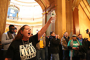 Flint Protest in Lansing