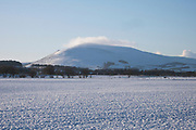 Tinto Hill, Scottish Borders, winter