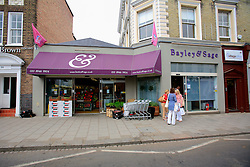 """UNITED KINGDOM WIMBLEDON 26JUN09 - General view of the Bailey & Sage food supermarket in Wimbledon Village, Boris Becker's new home in London. The newlyweds Boris Becker & Sharlely """"Lilly"""" Kerssenberg have recently moved into a 6-million pound property in Burghley Road, Wimbledon, London...jre/Photo by Jiri Rezac..© Jiri Rezac 2009"""