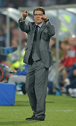 12.06.2010, Royal Bafokeng Stadium, Rustenburg, RSA, FIFA WM 2010, England (ENG) vs USA (USA), im Bild Fabio Capello manager / head coach of England, EXPA Pictures © 2010, PhotoCredit: EXPA/ IPS/ Mark Atkins / SPORTIDA PHOTO AGENCY
