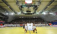 Handball EM Herren 2010 Hauptrunde Deutschland - Frankreich 24.01.2010 Feature; Mannschaftsaufstellung;