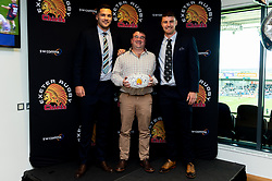 Match ball Sponsors in the Chiefs Suite prior to kick off  - Mandatory by-line: Ryan Hiscott/JMP - 19/10/2019 - RUGBY - Sandy Park - Exeter, England - Exeter Chiefs v Harlequins - Gallagher Premiership Rugby