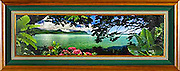 Window to Paradise Limeted Ed. framed