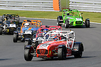 #35 Jack Sales Caterham Superlight R300-S during the BookaTrack.com Caterham Superlight R300 Championship at Oulton Park, Little Budworth, Cheshire, United Kingdom. August 13 2016. World Copyright Peter Taylor/PSP.