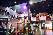 Nederland, Enschede, 13-12-2013Vermaakscentrum Go Planet maakt een zieltogende indruk. De hal van de bioscoop.Entertainmentboulevard Go Planet te Enschede. De funstreet van Twente.Foto: Flip Franssen/Hollandse Hoogte