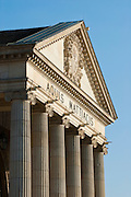 Portikus, Kurhaus, Wiesbaden, Hessen, Deutschland.|.Kurhaus, Wiesbaden, Hessen, Germany