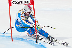 21.01.2011, Tofana, Cortina d Ampezzo, ITA, FIS World Cup Ski Alpin, Lady, Cortina, SuperG, im Bild Anja Paerson (SWE, #12, Platz 2) // Anja Paerson (SWE, place 2) during FIS Ski Worldcup ladies SuperG at pista Tofana in Cortina d Ampezzo, Italy on 21/1/2011. EXPA Pictures © 2011, PhotoCredit: EXPA/ J. Groder