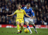 Photo: Rich Eaton.<br /> <br /> Birmingham City v Preston North End. Coca Cola Championship. 09/12/2006. Gary McSheffrey right, scorer of Birminghams first 2 goals tries to beat  Paul McKenna to the ball