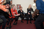 London: Prince Harry Visits Homeless Hostel With The Running Charity - 26 Jan 2017