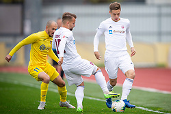 Gaser Udovic of Triglav and Tonci Mujan of Domzale during football match between NK Domzale and NK Triglav in Round #18 of Prva liga Telekom Slovenije 2019/20, on November 23, 2019 in Sports park Domzale, Slovenia. Photo by Sinisa Kanizaj / Sportida
