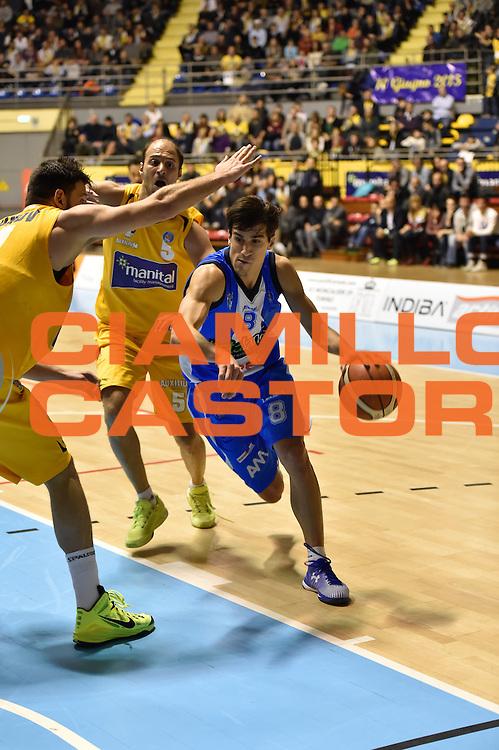 DESCRIZIONE : Torino Lega A 2015-16 Manital Torino - Betaland Capo d'Orlando<br /> GIOCATORE : Tommaso Laquintana<br /> CATEGORIA :Serie A <br /> SQUADRA : Betaland Capo d'Orlando<br /> EVENTO : Campionato Lega A 2015-2016<br /> GARA : Manital Torino - Betaland Capo d'Orlando<br /> DATA : 22/11/2015<br /> SPORT : Pallacanestro<br /> AUTORE : Agenzia Ciamillo-Castoria/M.Matta<br /> Galleria : Lega Basket A 2015-16<br /> Fotonotizia: Torino Lega A 2015-16 Manital Torino - Betaland Capo d'Orlando