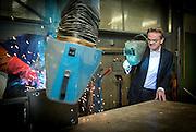 Jan Lamkin, directeur en DGA van SBE Piping Machine- en Apparatenbouw.