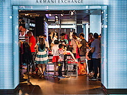 12 FEBRUARY 2016 - BANGKOK, THAILAND: People shop in one of the high end fashion retailers in Siam Center, one of the trendiest malls in Bangkok. It's in the middle of Bangkok's exclusive retail area.           PHOTO BY JACK KURTZ