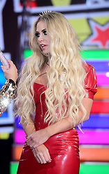 Bianca Gascoigne enters the Celebrity Big Brother house at Elstree Studios in Borehamwood, Herfordshire, during the latest series of the Channel 5 reality TV programme.