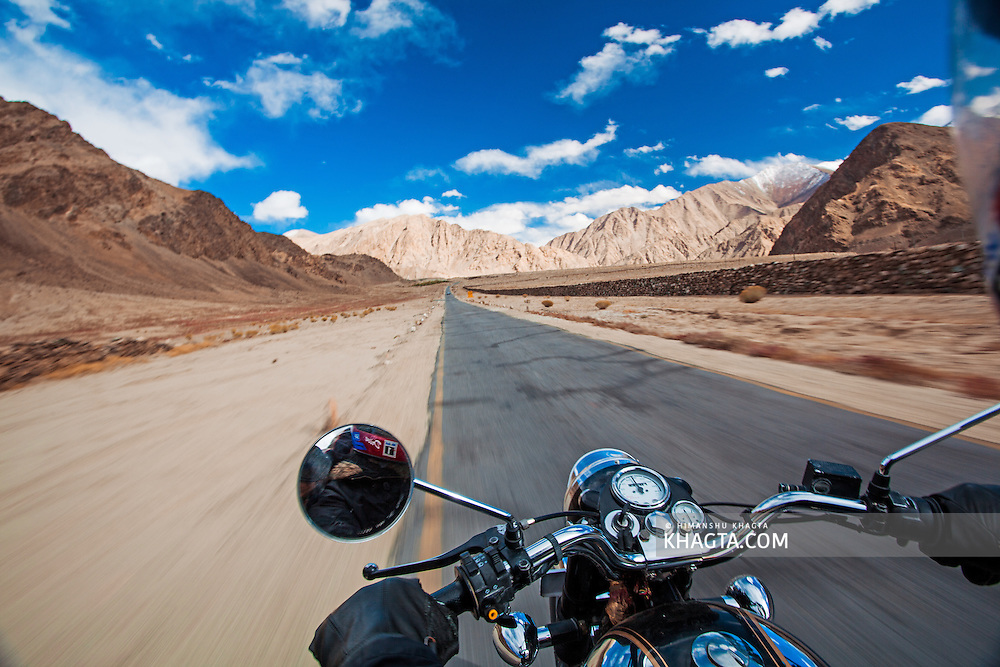 Biking in Ladakh, India