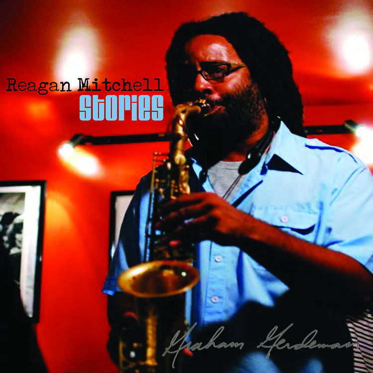 "Cover photo for saxophonist Reagan Mitchell's debut CD ""Stories"""