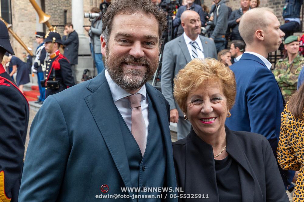 NLD/Den Haag/20190917 - Prinsjesdag 2019, Klaas Dijkhof en zijn moeder