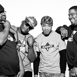 Asheru (Gabriel Benn), Hip Hop Pantsula (Jabulani Tsambo), Biscuit, and Omar in Washington, DC