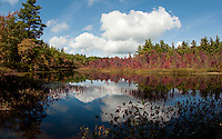A fall day in New Hampton, NH September 21, 2011.