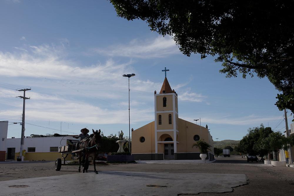 Sao Jose do Sabugi_ PB, Brasil.<br /> <br /> Paroquia Sao Jose em Sao Jose do Sabugi, Paraiba.<br /> <br /> Sao Jose church in Sao Jose do Sabugi, Paraiba.<br /> <br /> Foto: EMMANUEL PINHEIRO / NITRO