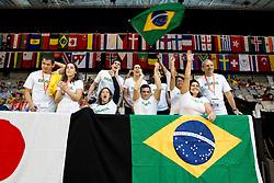 Team Brazil Spectators BRA at 2015 IPC Swimming World Championships -