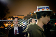 Washington DC Celebration..Thousands of people flock to the White House to celebrate Obama's victory and to say goodbye to Bush...the crowd finally fizzled after 3am...Washington DC