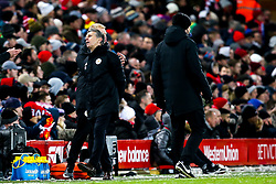 Leicester City manager Claude Puel cuts a frustrated figure - Mandatory by-line: Robbie Stephenson/JMP - 30/01/2019 - FOOTBALL - Anfield - Liverpool, England - Liverpool v Leicester City - Premier League