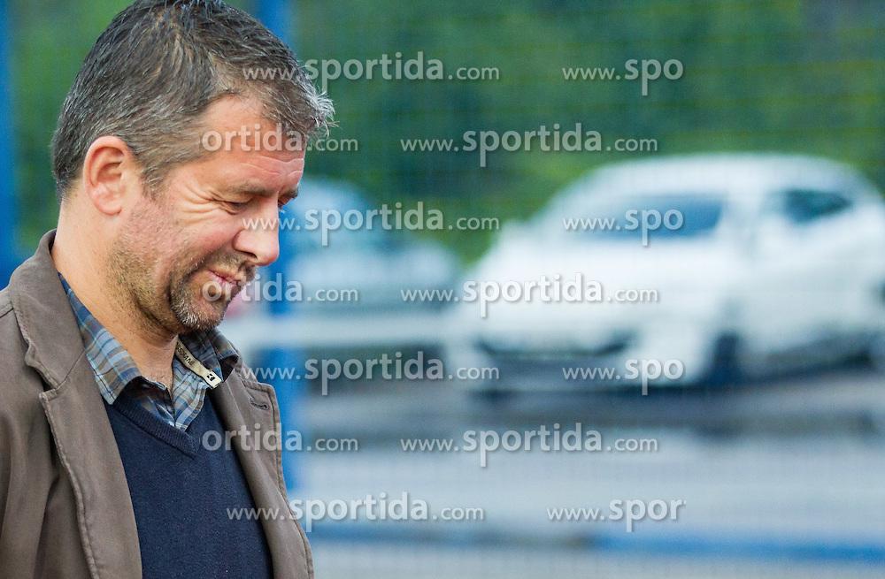 Dejan Djuranovic, head coach of Radomlje during football match between NK Kalcer Radomlje and NK Domzale in 8th Round of Prva liga Telekom Slovenije 2014/15, on September 13, 2014 in Sports park Domzale, Slovenia. Photo by Vid Ponikvar  / Sportida.com