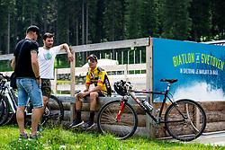 Primoz Roglic at Sloveian Road Cycling Championship Time Trial 2020 Gorje - Pokljuka, on June 28, 2020 in Pokljuka, Slovenia. Photo by Matic Klansek Velej / Sportida