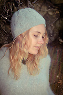 2012 Grey Sweater & Beanie - Jessie James Hollywood