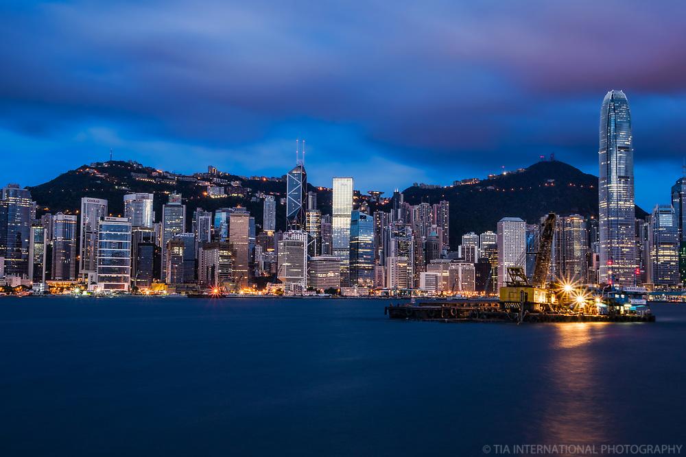 HK Skyline @ Blue Hour