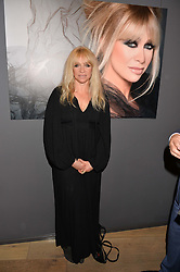 JO WOOD at the launch of Simply Glamorous by Gary Cockerill held at Alon Fine Art, 5-7 Dover Street, London on 16th September 2015.